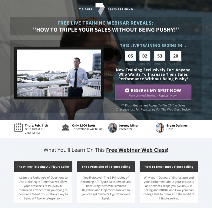 Here's A Webinar Funnel That's Converting Over 42% To Cold Traffic