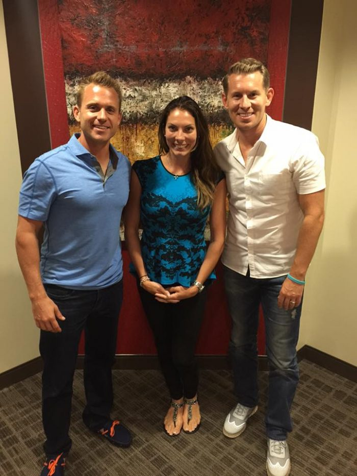 Bryan Dulaney, Megan Unsworth & Jeremy Miner In San Diego, CA (September 10, 2015)